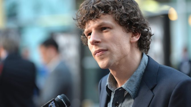 Jesse Eisenberg Lex Luthor Superman Batman