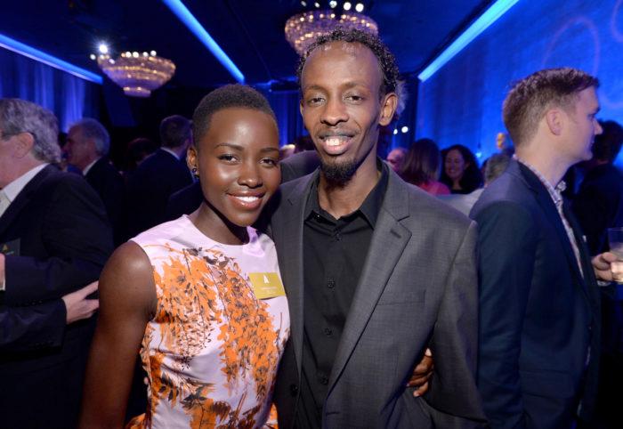 Lupita Nyong'o y Barkhad Abdi