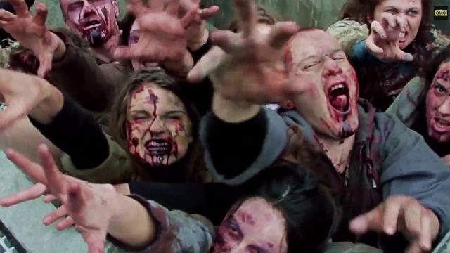 Walking Dead Zombie Prank New York