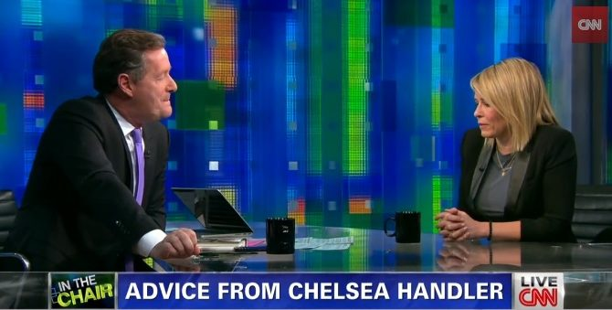 CNN Piers Morgan Chelsea Handler