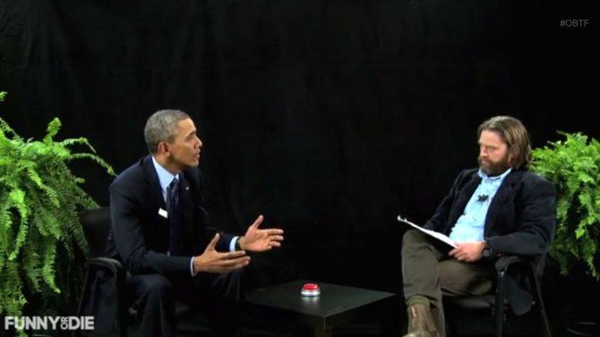 Barack Obama Zach Galifianakis