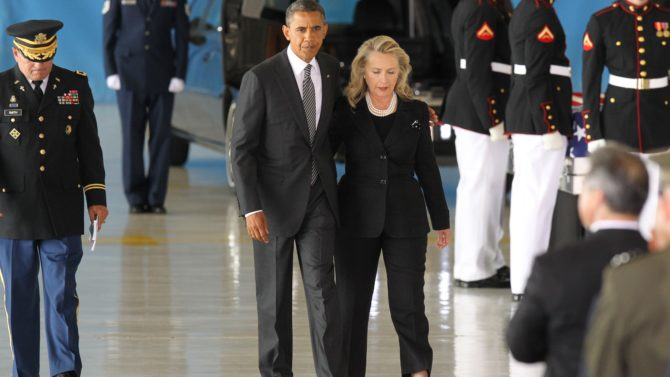 Barack Obama Hillary Clinton 'Timber'