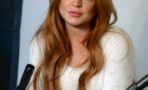 Lindsay Lohan Press Conference at Social