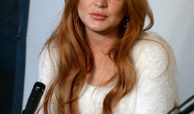 Lindsay Lohan Press Conference at Social