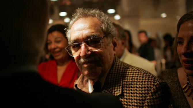 HAVANA - DECEMBER 05: Colombian writer
