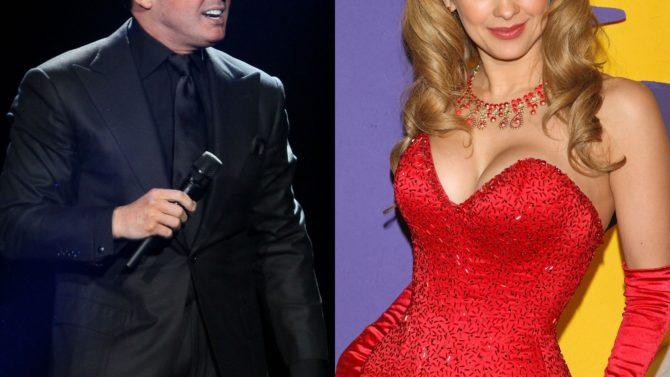 Aracely Arámbula compara a Luis Miguel
