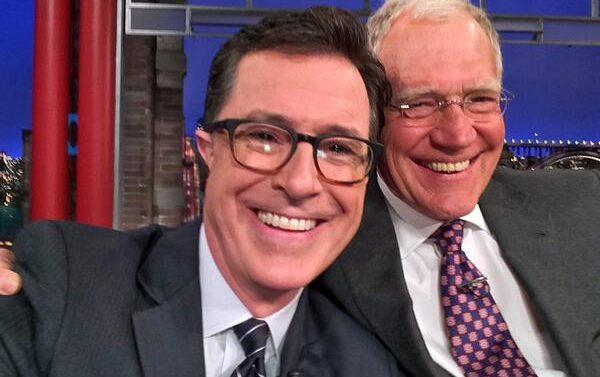 David Letterman Stephen Colbert