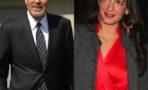 George Clooney y Amal Alamuddin celebran