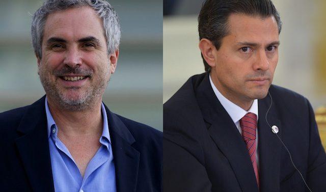 Cuarón cuestiona a Presidente mexicano por