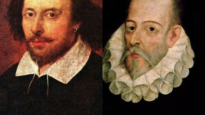 Shakespeare y Cervantes curiosidades de dos