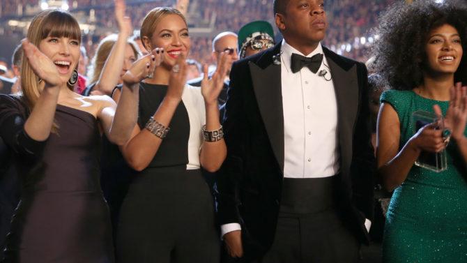 Beyoncé, Jay-Z, Solange, Pelea
