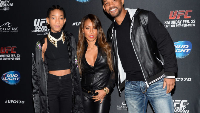 Will Smith, Willow Smith, Jada Pinkett-Smith,