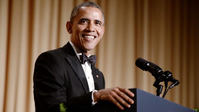 Barack Obama, Cena de Corresponsales