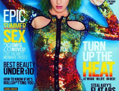 Katy Perry Portada de Cosmopolitan