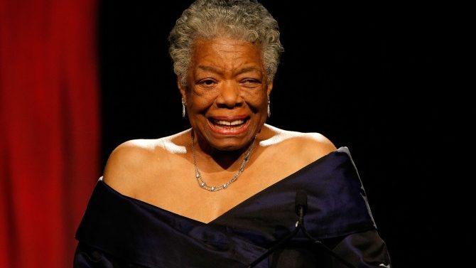 Maya Angelou muere - los famosos