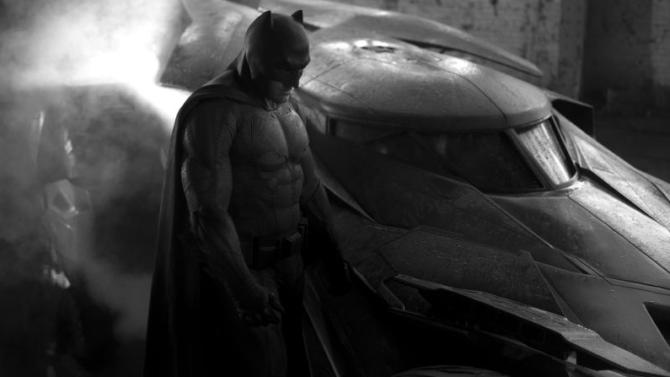 Ben Affleck Batman Batmobile