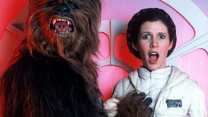 Star Wars Carrie Fisher Princess Leia