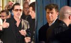 Brad Pitt atacado en premiere de