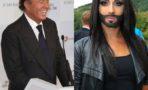 Julio Iglesias apoya a Conchita Wurst