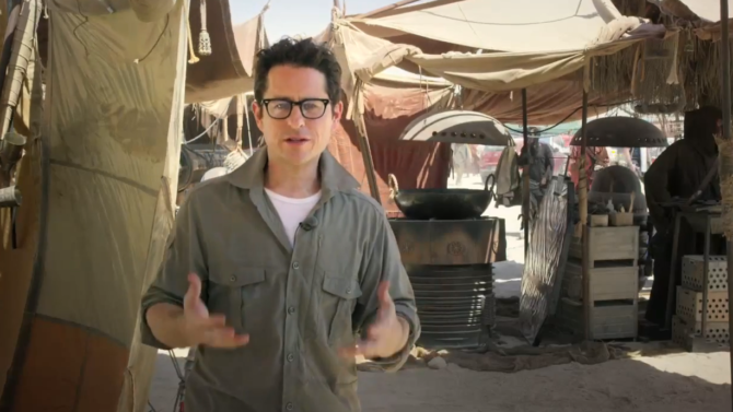 Star wars unicef jj abrams
