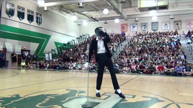 Michael Jackson baile