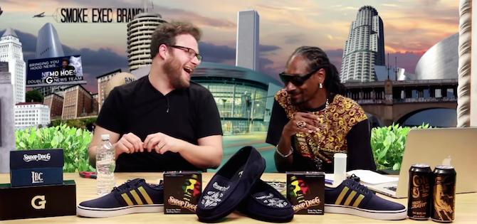 Seth Rogen y Snoop Dogg hacen