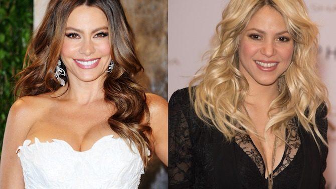 Sofía Vergara y Shakira, entre las