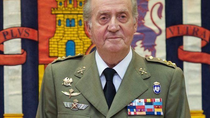 MADRID, SPAIN - JUNE 29: King