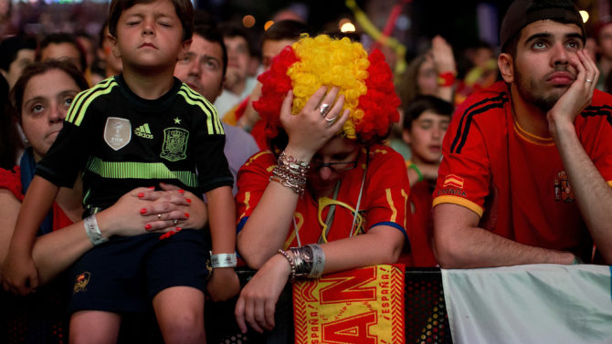 MADRID, SPAIN - JUNE 18: Spanish