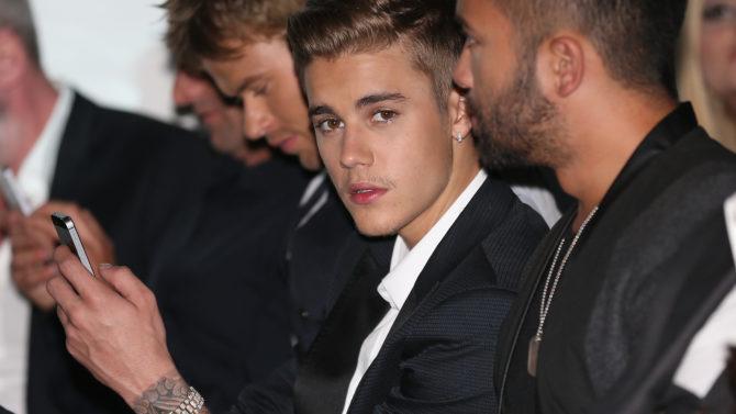 Justin Bieber, Chiste Racista