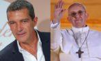 Antonio Banderas, Papa Francisco
