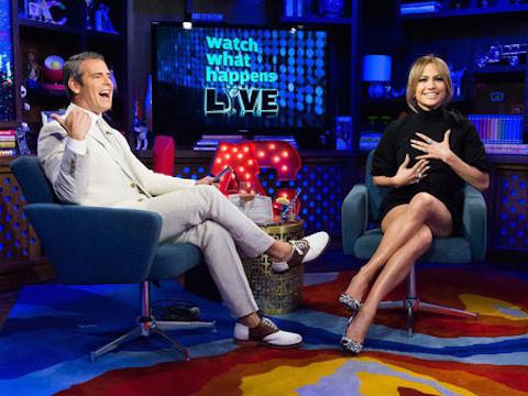 Jennifer Lopez Andy Cohen Bravi