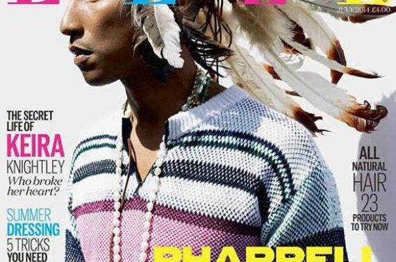 Pharrell Williams pide disculpa por portada
