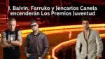 J Balvin, Farruko y Jencarlos Canela