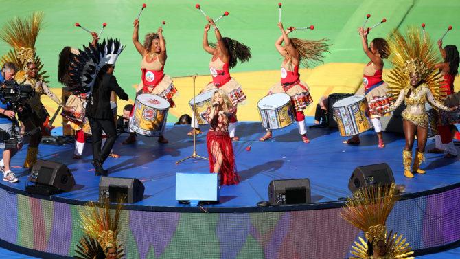 Shakira, Mundial