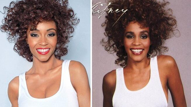 Yaya como Whitney Houston