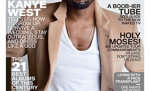 Kanye West Portada GQ