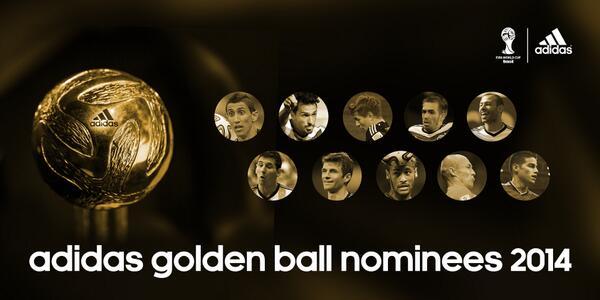 Y los nominados al Balón de