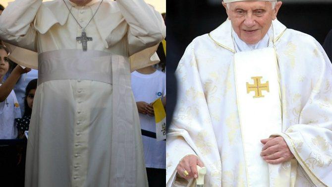 Papa Francisco, Benedicto XVI