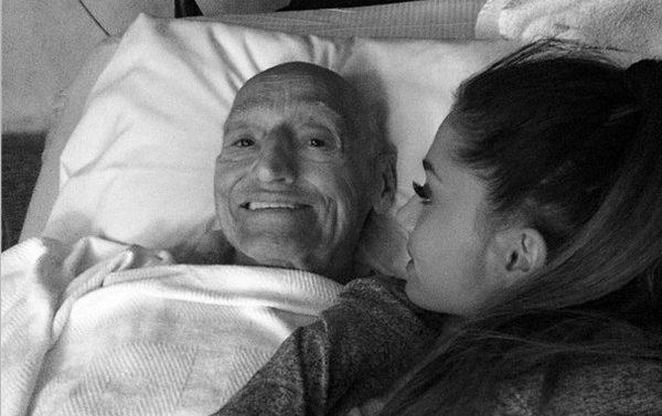 Abuelo Ariana Grande Cancer