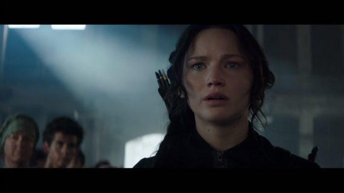 """The Hunger Games: Mockingjay-Part 1"" trailer"