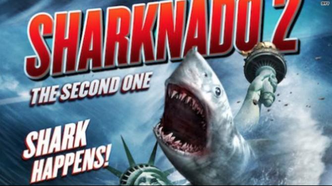 Reacciones Sharknado 2 The Second One