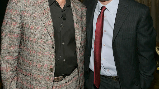 Robin Williams and Michael J. Fox