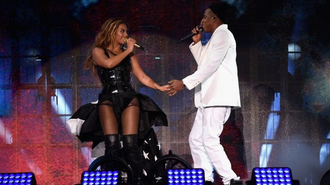Video On The Run Tour Beyonce