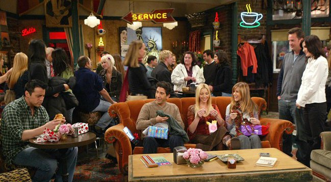 Recrean Central Perk Friends