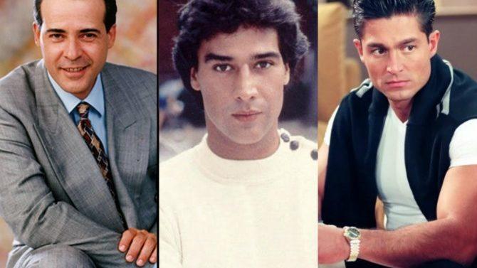 #TBT: los galanes de las telenovelas