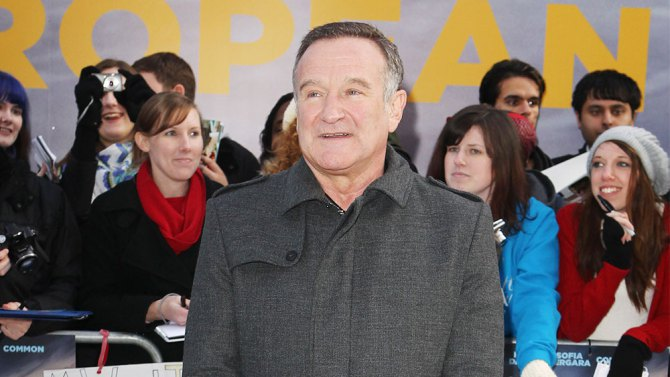 Robin Williams entre los comediantes que