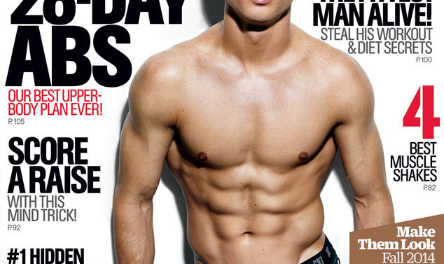 Cristiano Ronaldo Portada Mens Health