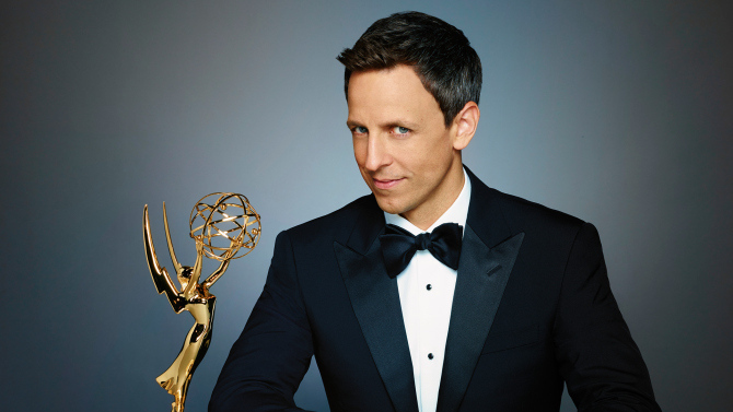 Seth Meyers Host Emmys Anfitrion