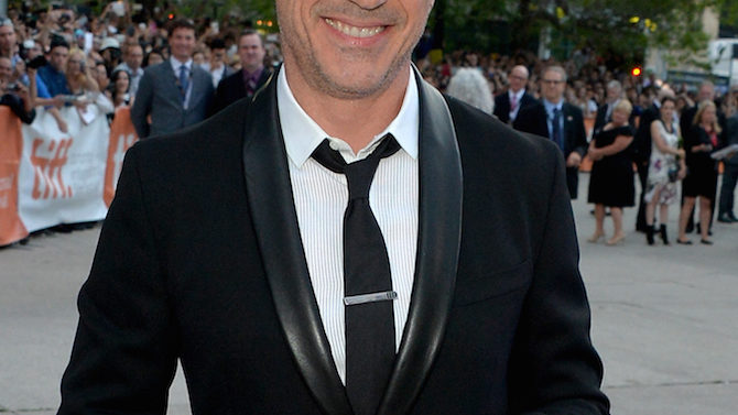"""attends """"The Judge"""" premiere during the"""